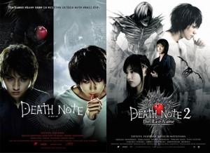 Death Note 1 y 2 Fantasía oscura con psicópata y todo