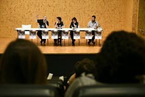 foto de la primera charla del sábado sobre pulp