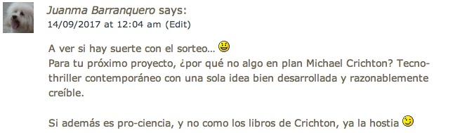 Comentario de Juanma