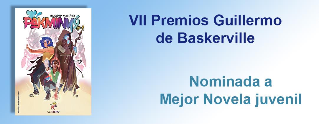 Pakminyó: Nominada a Mejor novela juvenil en los VII Premios Guillermo de Baskerville